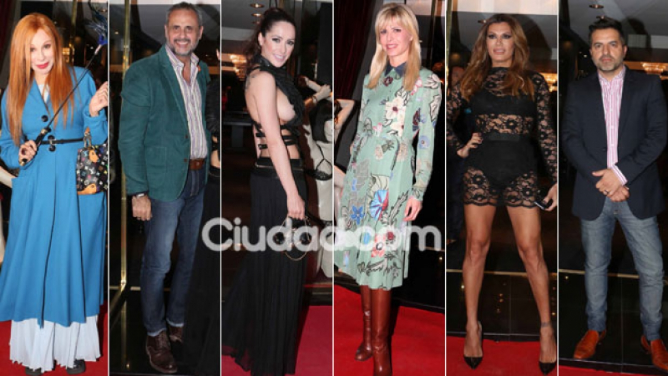 Muchas celebrities en la apertura del local de lencería hot de Victoria Vannucci. (Foto: Movilpress)