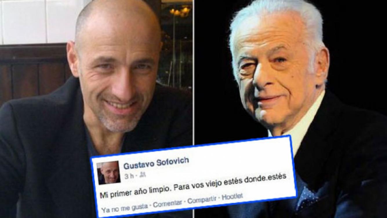 Gustavo Sofovich le dedicó su logro personal a su padre, Gerardo Sofovich. (Foto: Web)
