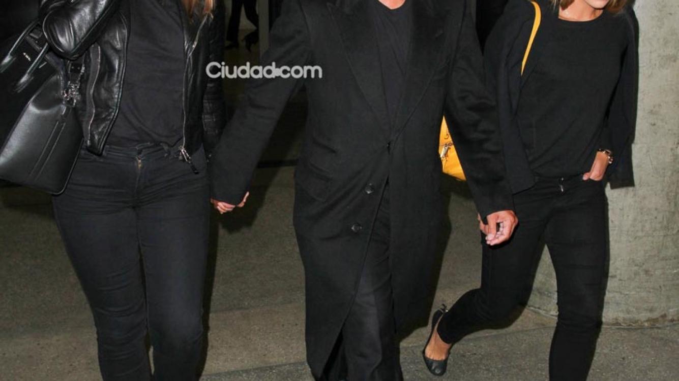 Luis Miguel con su novia Kasia y su hija Michelle. (Foto: Grosby Group)