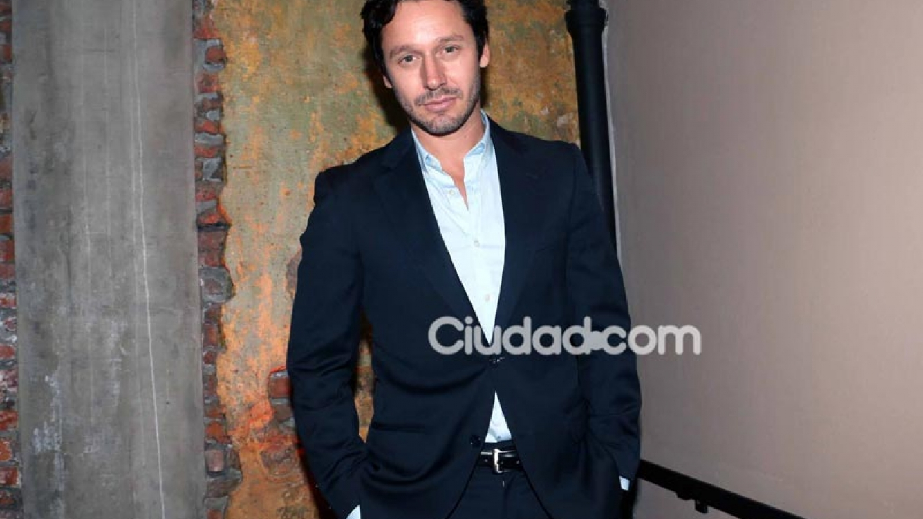 Benjamín Vicuña en la presentación de Sitiados. (Foto: Movilpress)