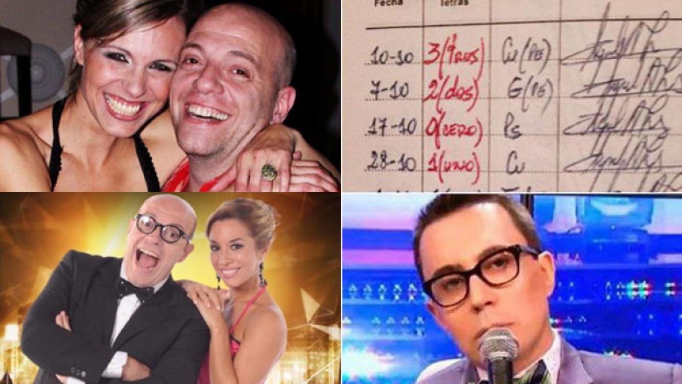 Denise Dumas y un divertido guiño twittero a Marcelo Polino por el cero en Bailando 2015 (Foto: Twitter y Web)