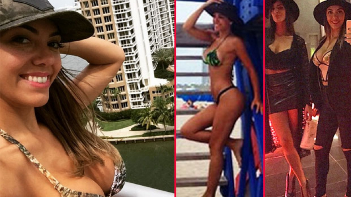 Floppy Tesouro, diosa total en Miami. (Fotos: Instagram.com/floppytesouro)
