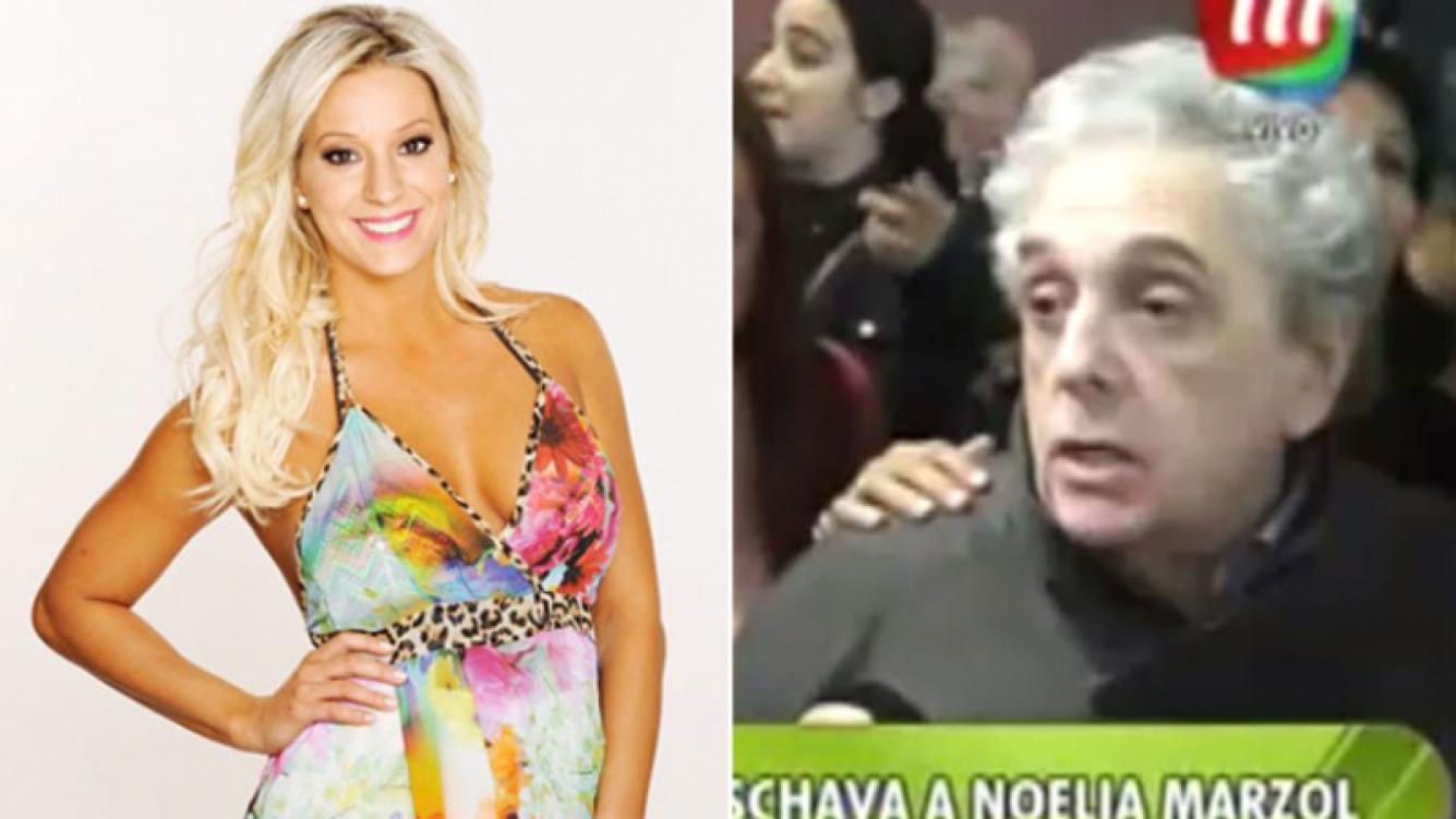 Noelia Marzol se refirió a las fuertes declaraciones de Antonio Gasalla (Foto: Web y Captura)
