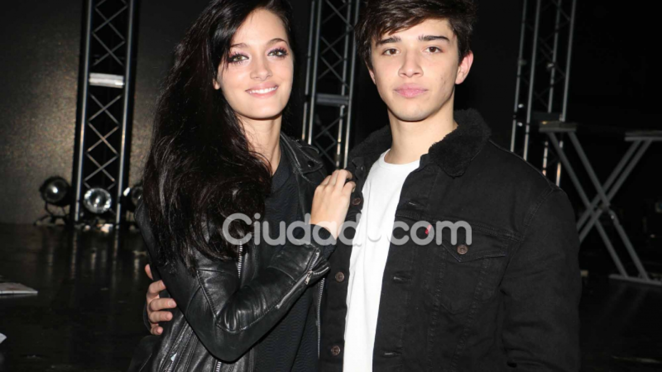 Julián Serrano y Oriana Sabatini. Foto: Movilpress-Ciudad.com.