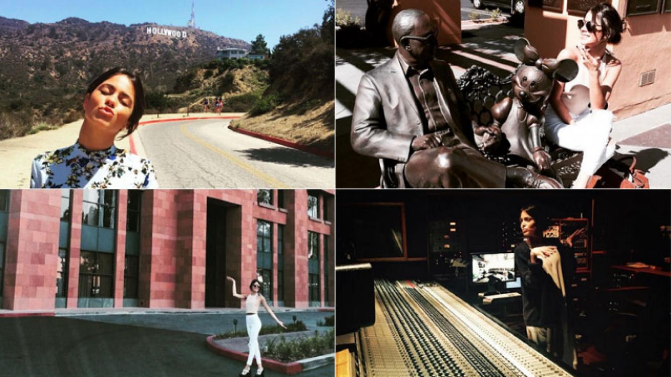 El tour de Tini Stoessel por Estados Unidos: paseos con historia (Instagram)