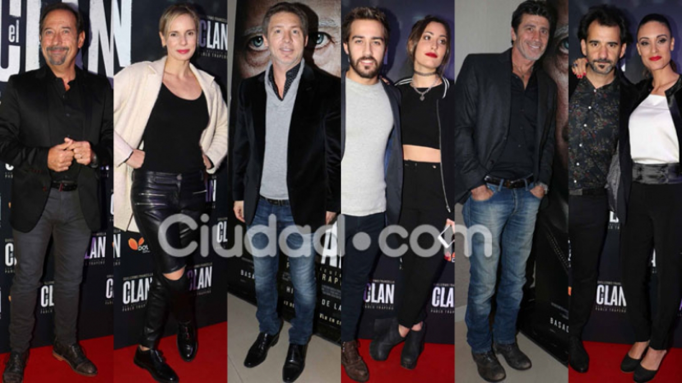Los famosos en la avant premiére de El Clan (Fotos: Movilpress).