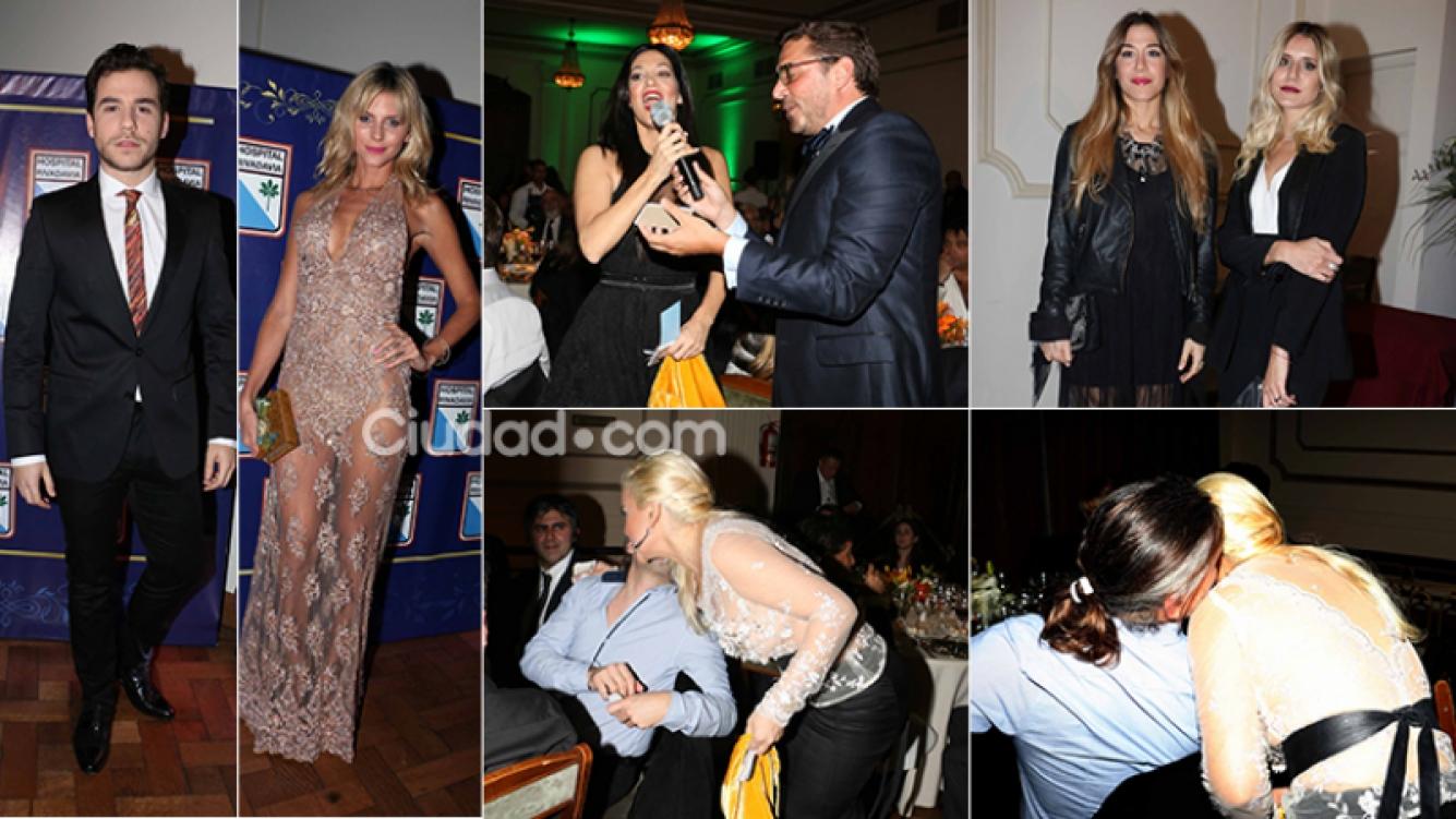 Los famosos en la gala benéfica del Hospital Rivadavia. (Foto: Movilpress-Ciudad.com)