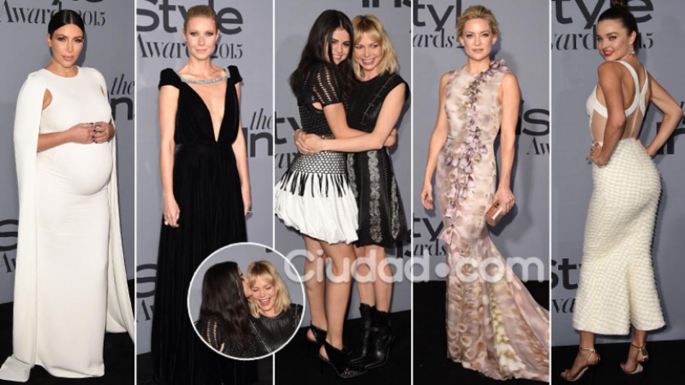 Celebrities top en una noche de looks. (Foto: AFP)