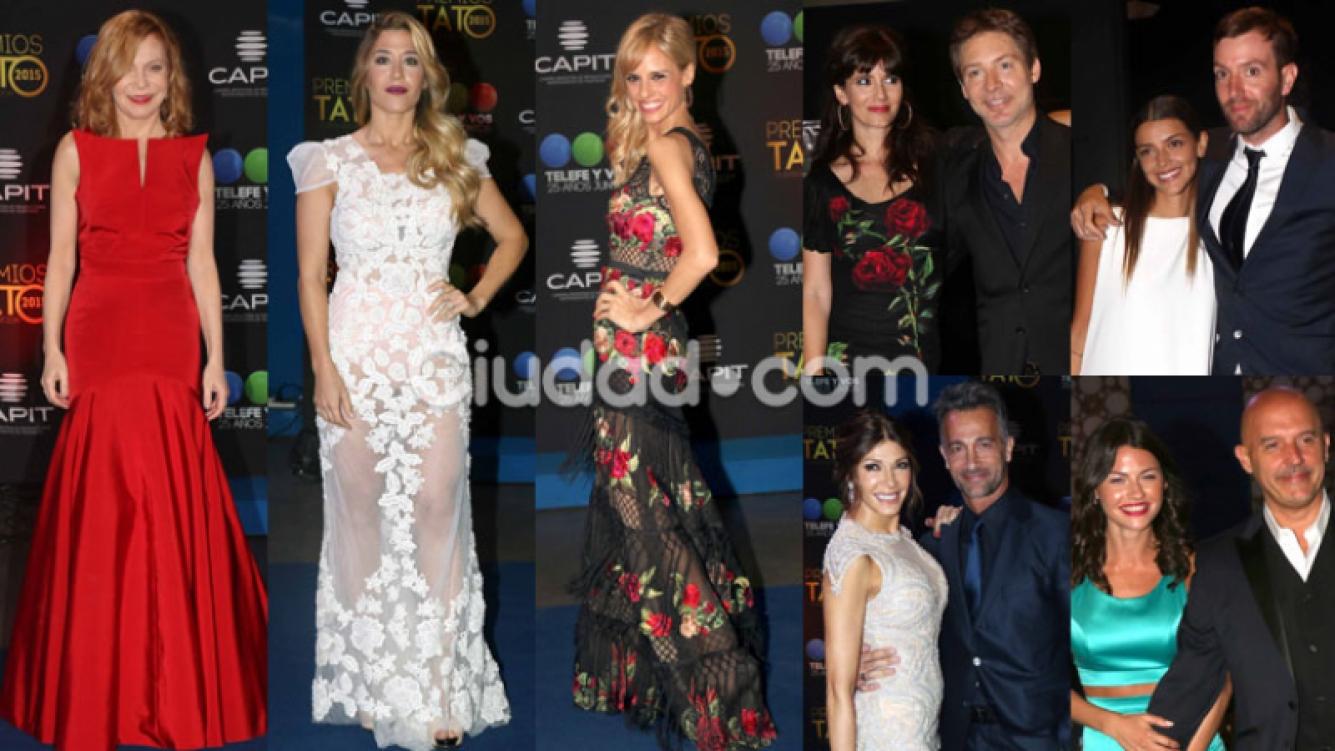 Los famosos más glamorosos en los Premios Tato (Fotos: Movilpress).