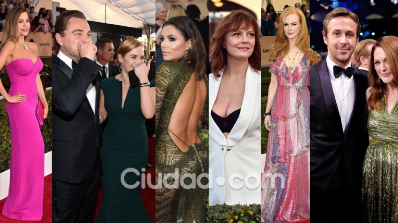 Los looks de la red carpet de los SAG awards. (Foto: AFP)