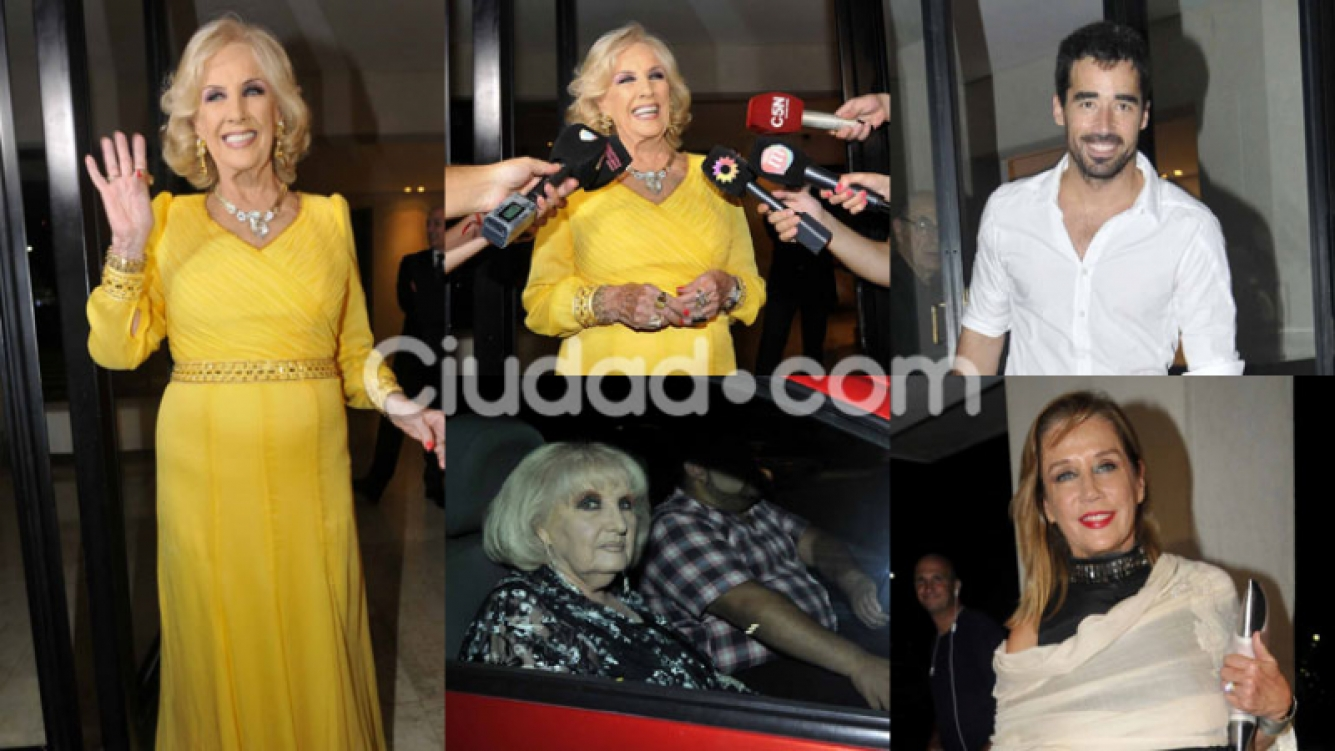 Todas las fotos del gran cumple de Mirtha Legrand (Fotos: Movilpress).