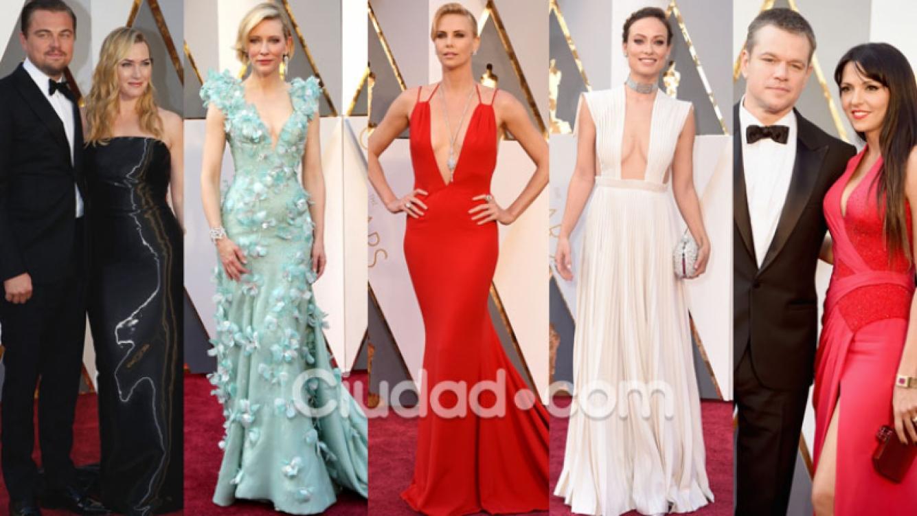 Los mejores y peores looks de los Oscar 2016 (Fotos: GrosbyGroup, AFP y Oscar.go.com).