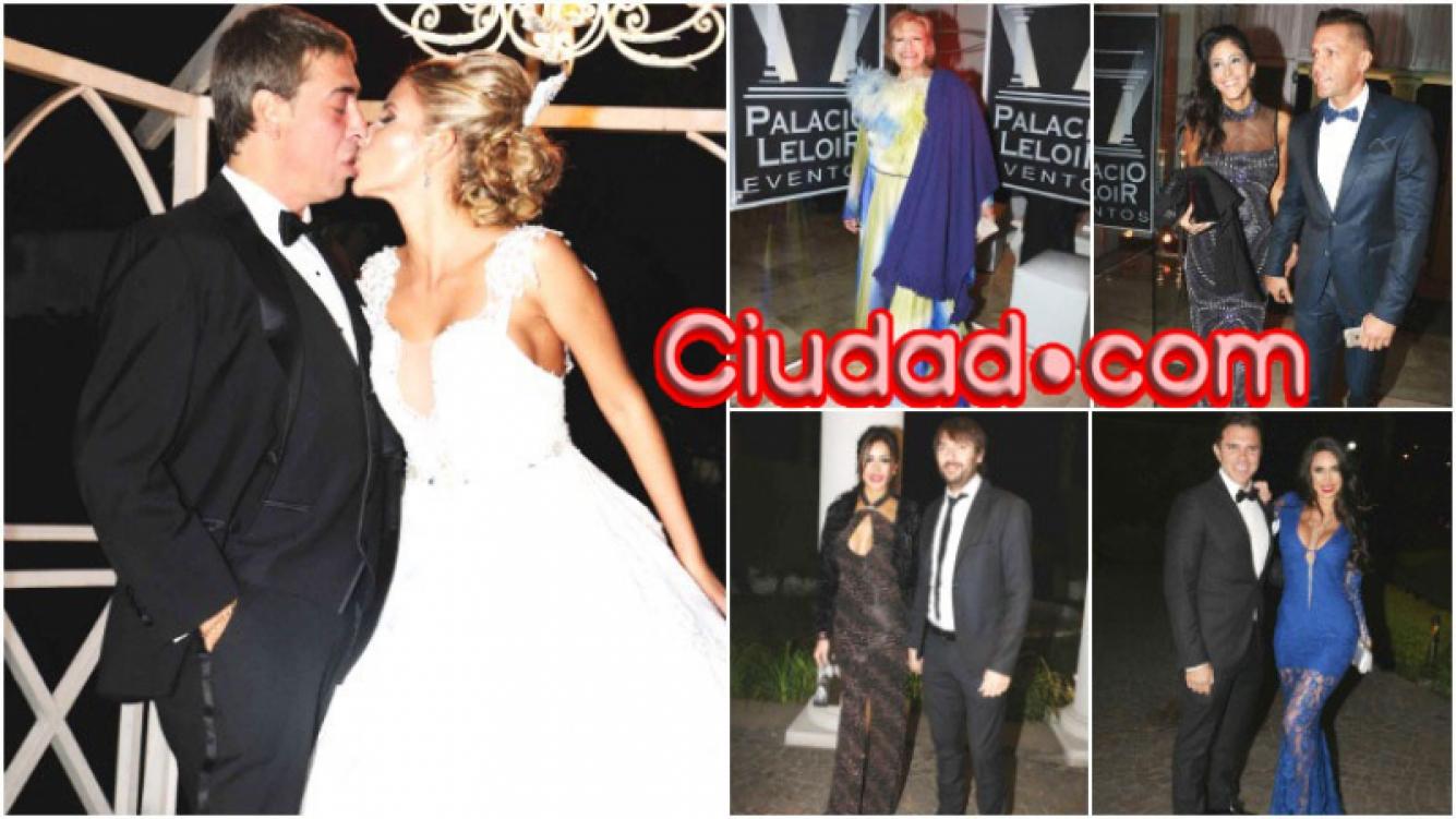La fiesta de casamiento de René Bertrand con Belén Giménez con famosos invitados (Fotos: Movilpress)