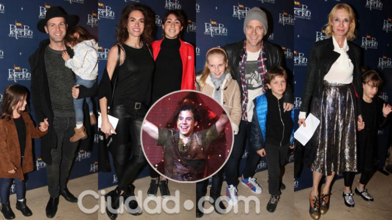 Los famosos en el estreno de Peter Pan, todos podemos volar (Fotos: Movilpress).