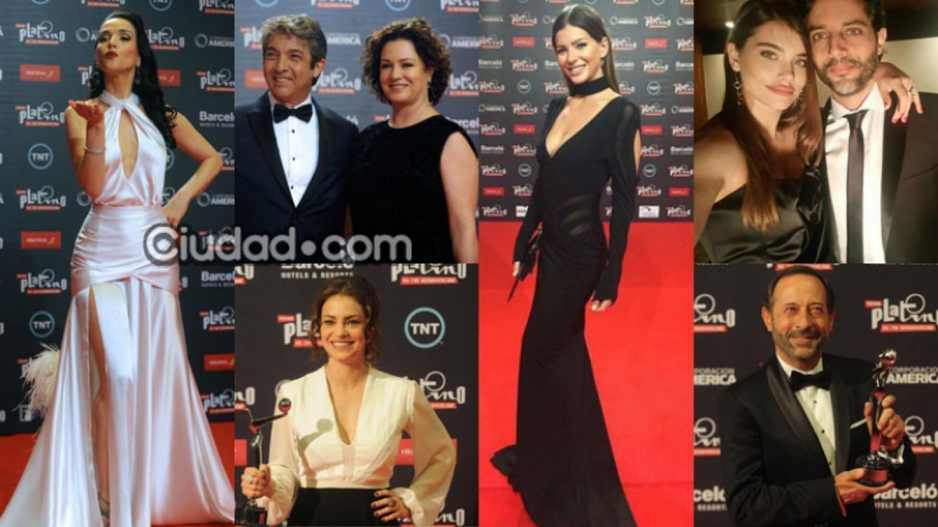 Los mejores looks y ganadores de los Premios Platino (Fotos: AFP e Instagram).