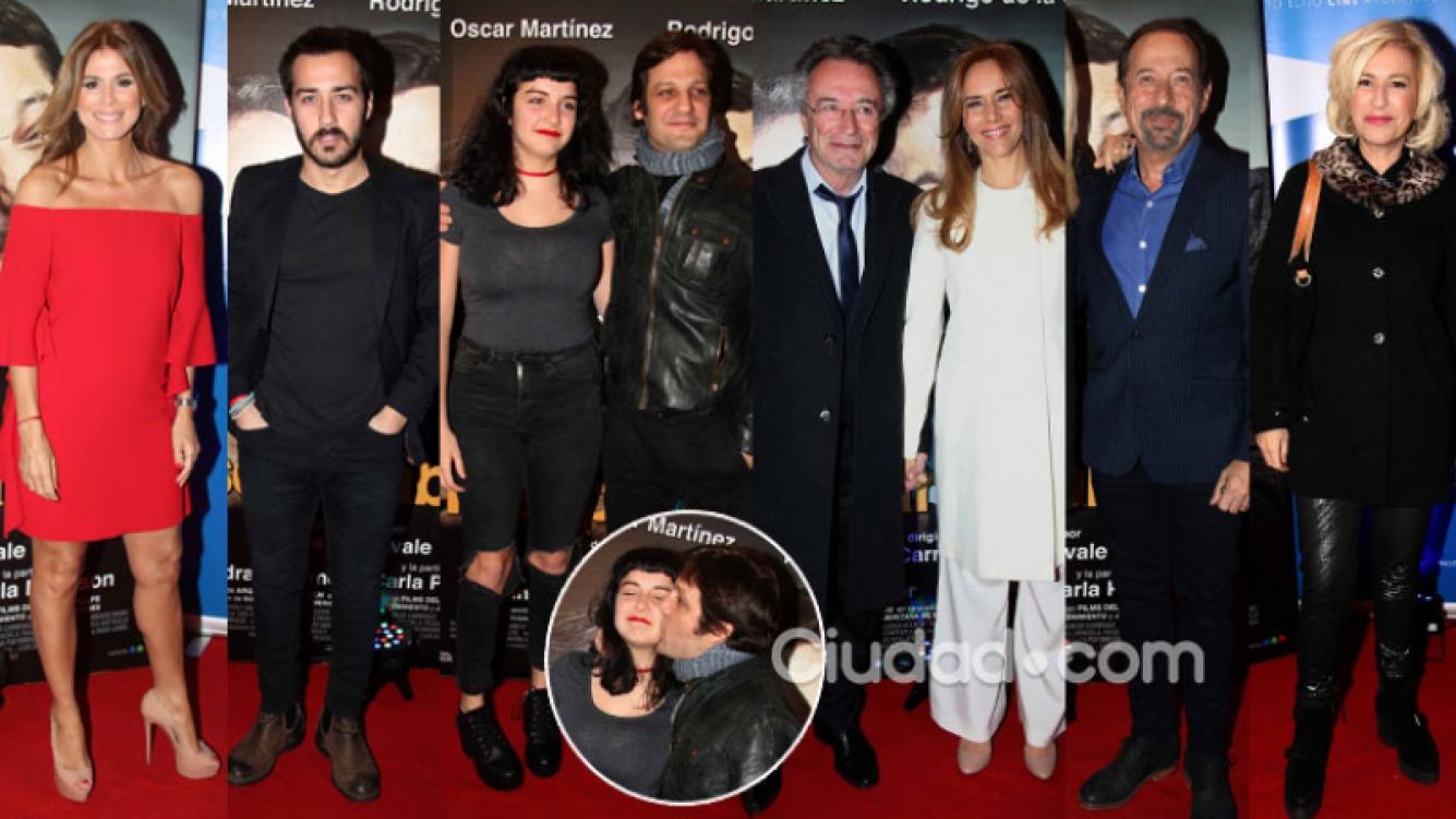 Famosos, parejas y muchos looks en el estreno del nuevo filme de De la Serna y Martínez. (Foto: Movilpress)