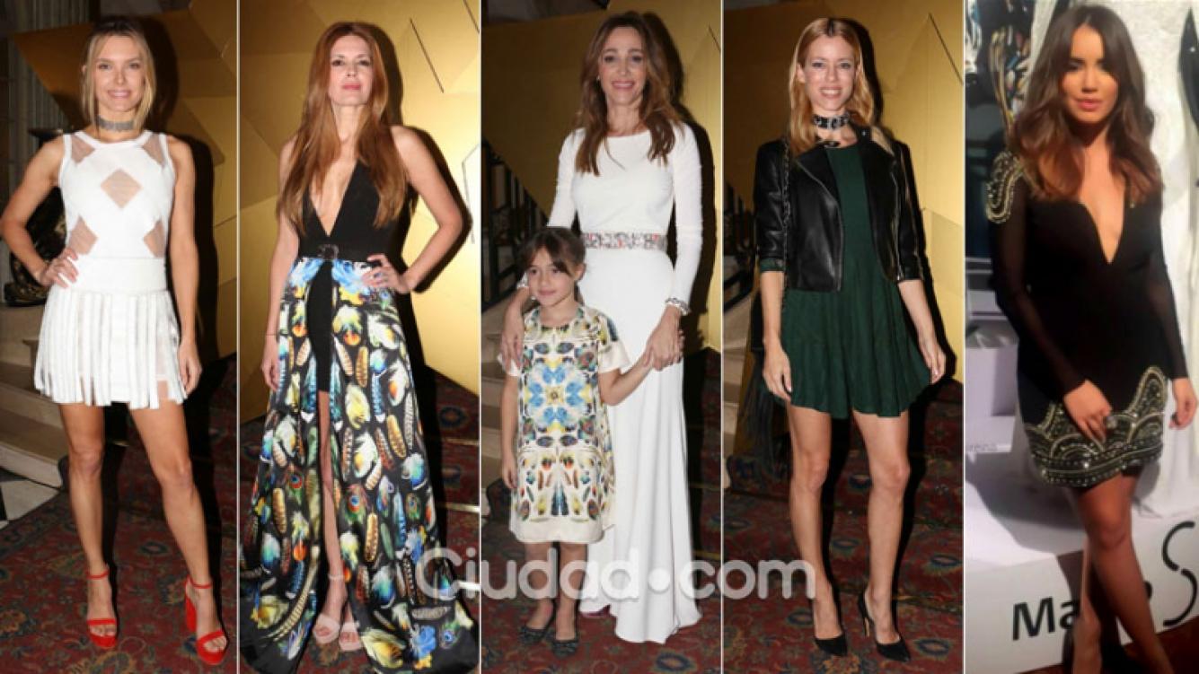 Muchas famosas top en la presentación de la colección de Verónica Lozano. (Foto: Movilpress y Web)