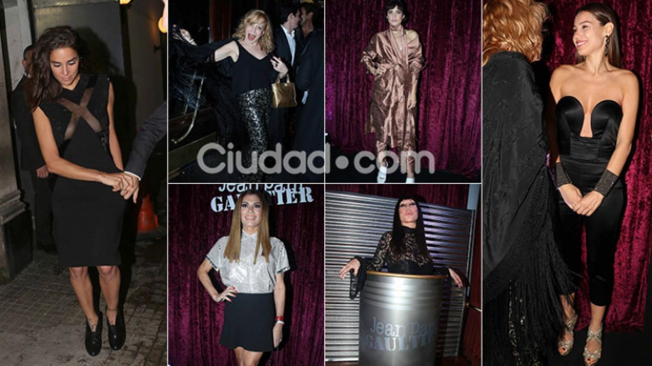 Todos los looks del evento de Jean Paul Gaultier. Fotos: Movilpress.