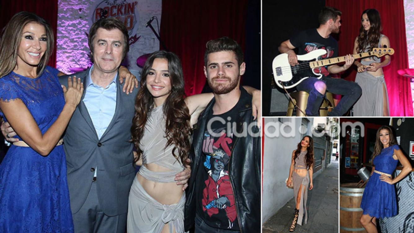 El elenco de Por amarte así en el evento de presentación. Fotos: Movilpress.