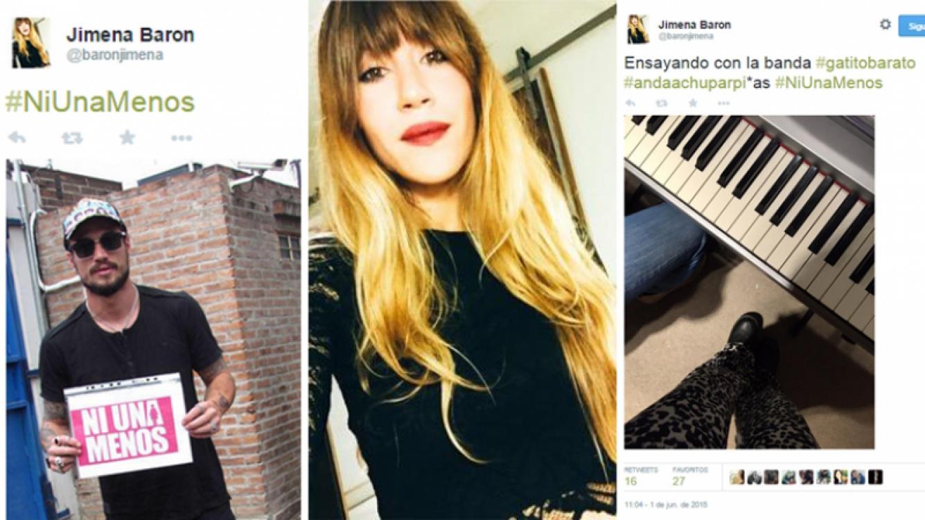 Jimena Barón y sus incendiarios tweets, tras denunciar a Daniel Osvaldo de violencia de género. (Foto: Twitter)