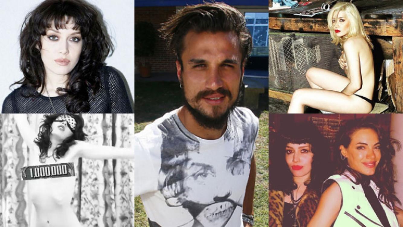 Militta Bora, perfil de la rockera señalada como la nueva amigovia de Osvaldo (Fotos: Web).
