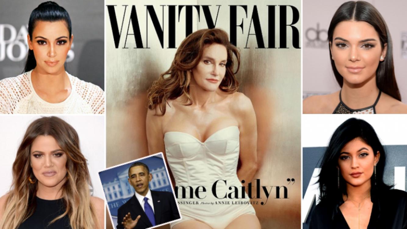 Caitlyn Jenner: las reacciones de las Kardashian tras su tapa de Vanity Fair… ¡y los tweets de Barack Obama! (Foto: Web)