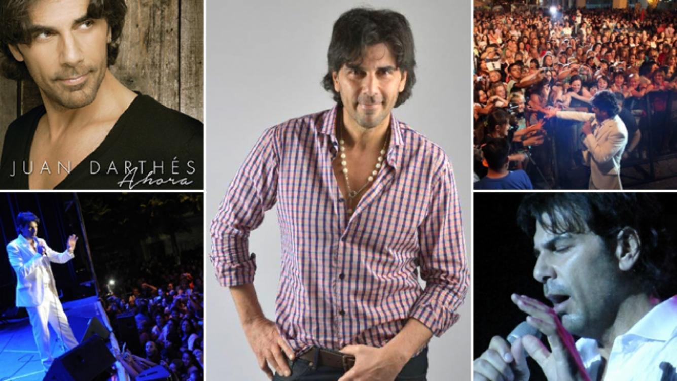 Juan Darthés se presenta en La Trastienda ¡y Ciudad.com te regala CD's, entradas y hasta un Meet & Greet para su show! (Foto: Web)