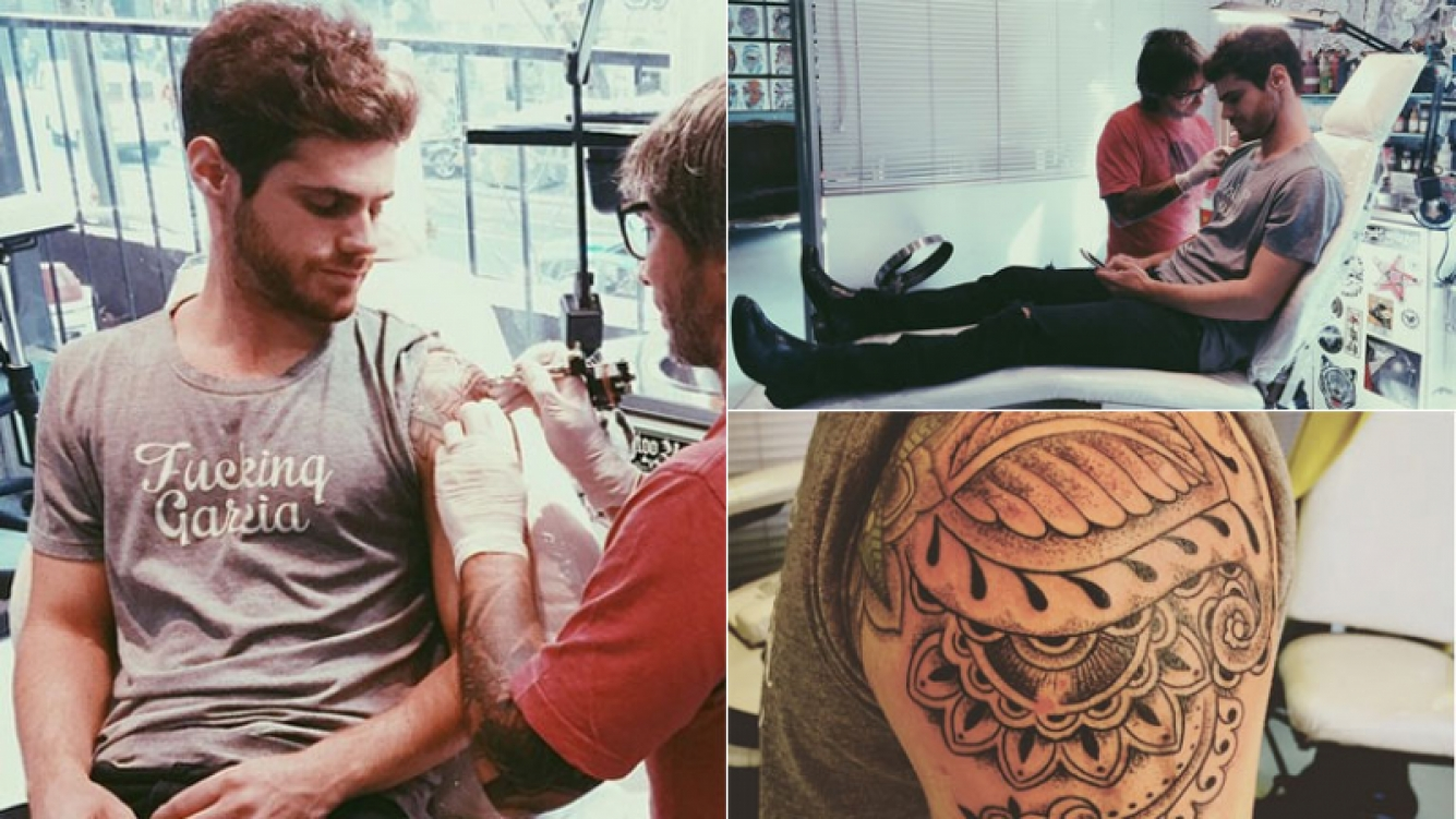El nuevo tatuaje de Gastón Soffritti Foto: Instagram