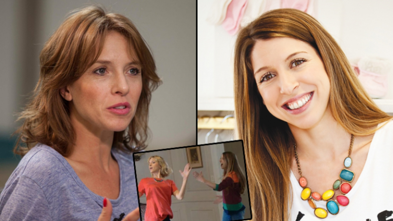El papelón de Carla Peterson con Florencia Bertotti. (Foto: Web)