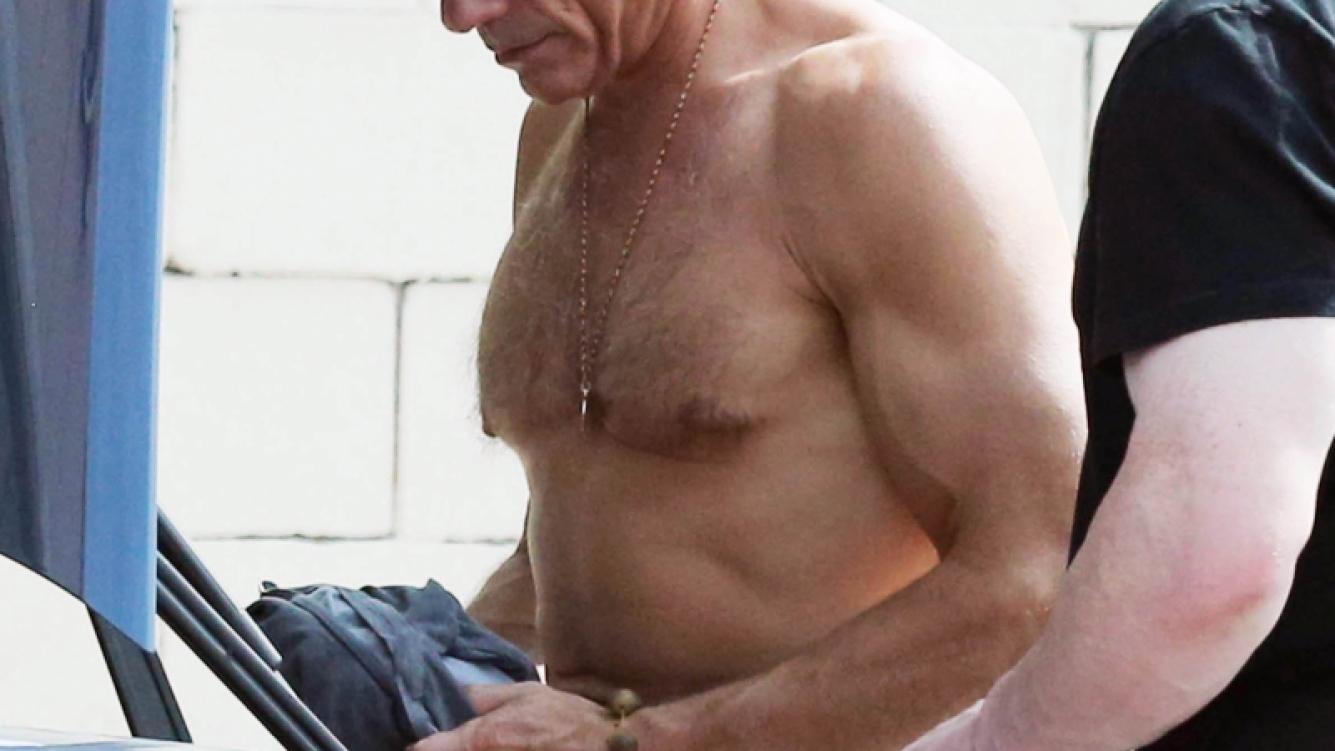 ¡Qué lomazo! Mirá cómo está Jean-Claude Van Damme a los 54 años: la foto en cuero
