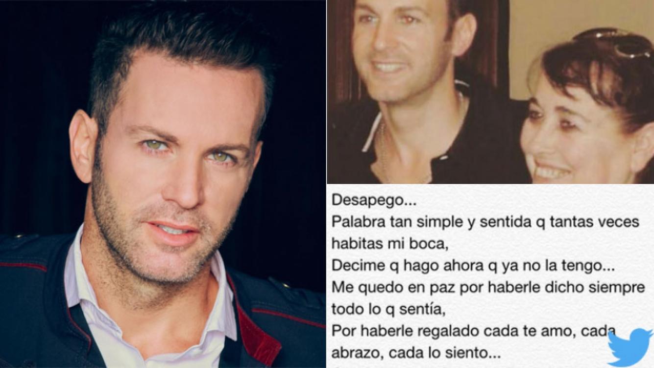La emotiva carta de Axel tras la muerte de su madre (Foto: Twitter)