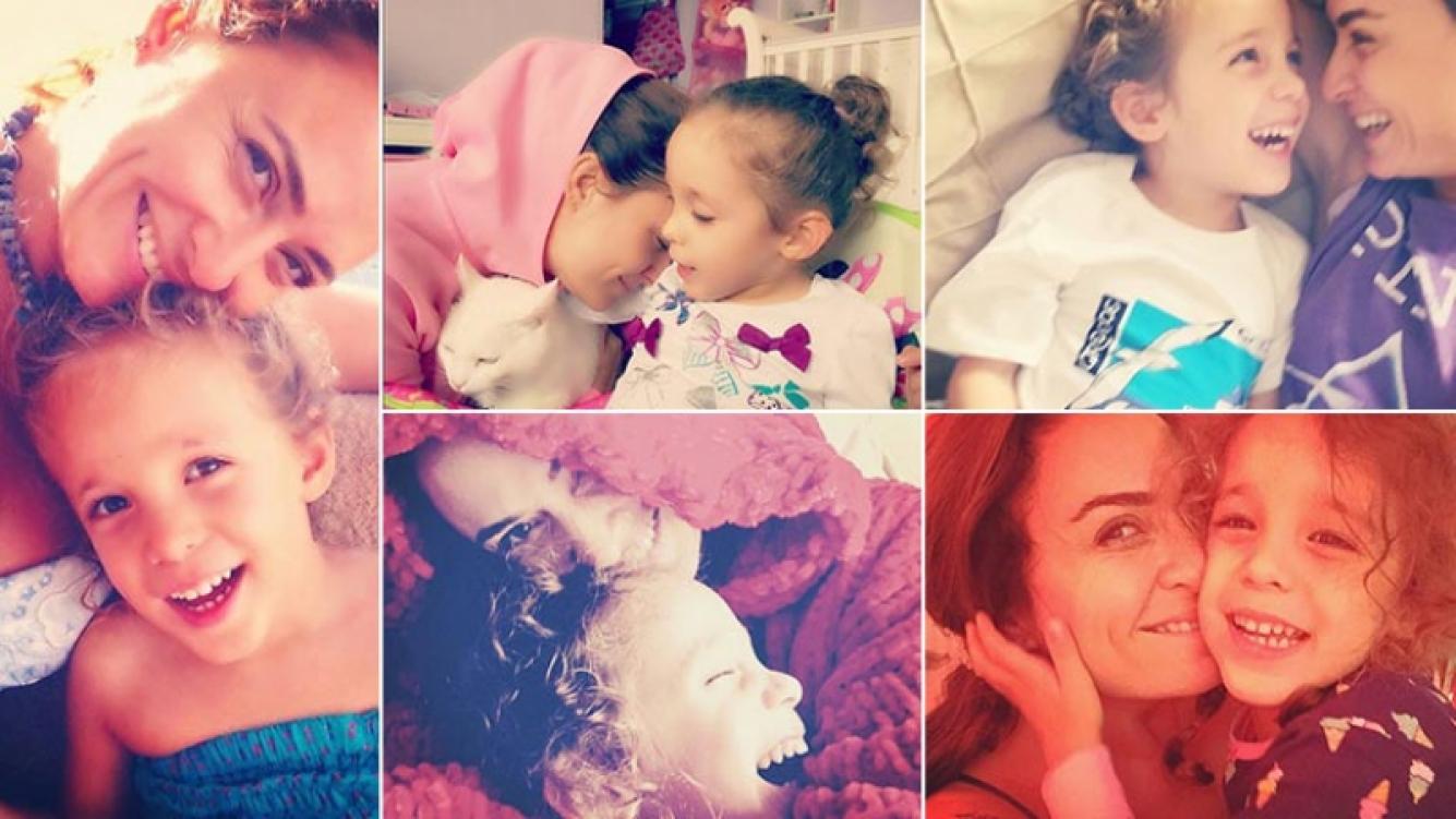 Bennu y su hija Melisa. (Fotos: Web)