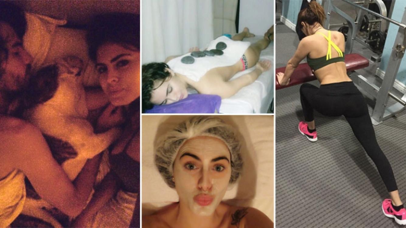 Silvina Luna, selfie en la intimidad y sexies consejos de belleza. (Foto: Instagram)