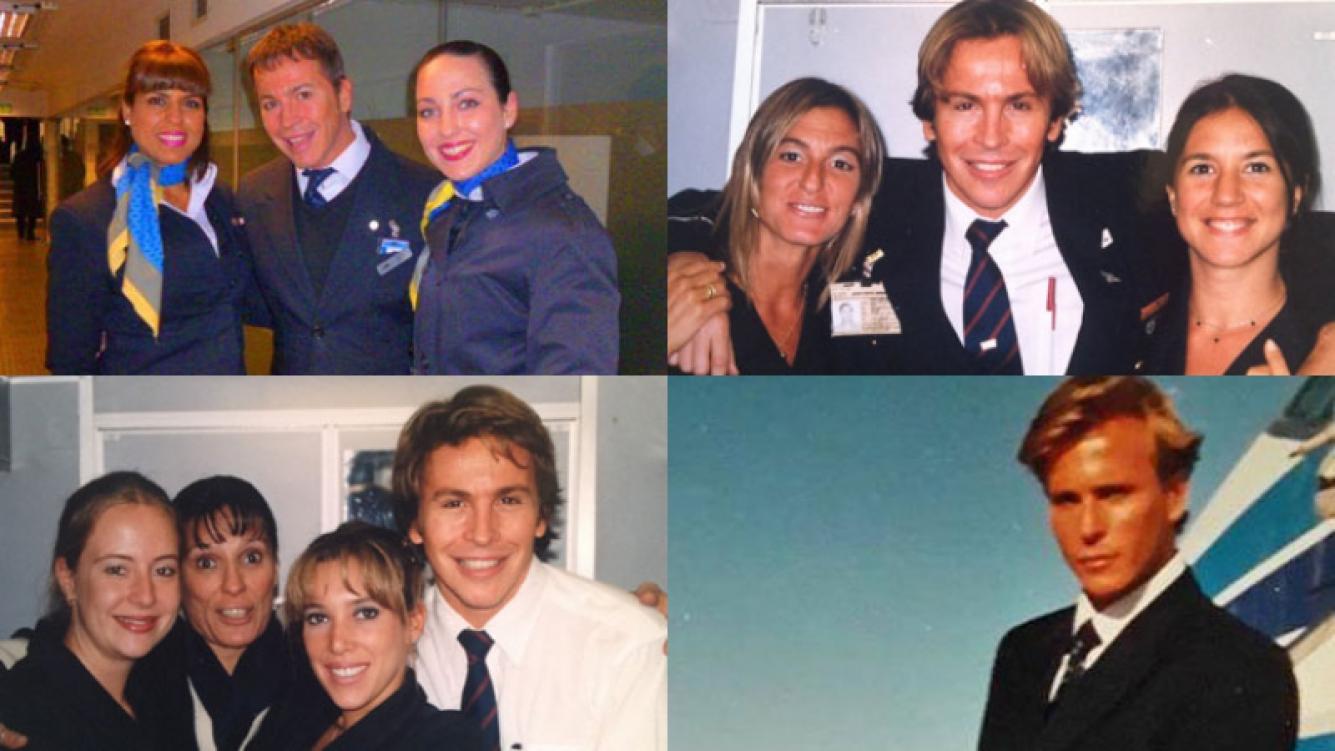 Guido Süller se despidió de Aerolíneas Argentinas Fotos: Facebook.