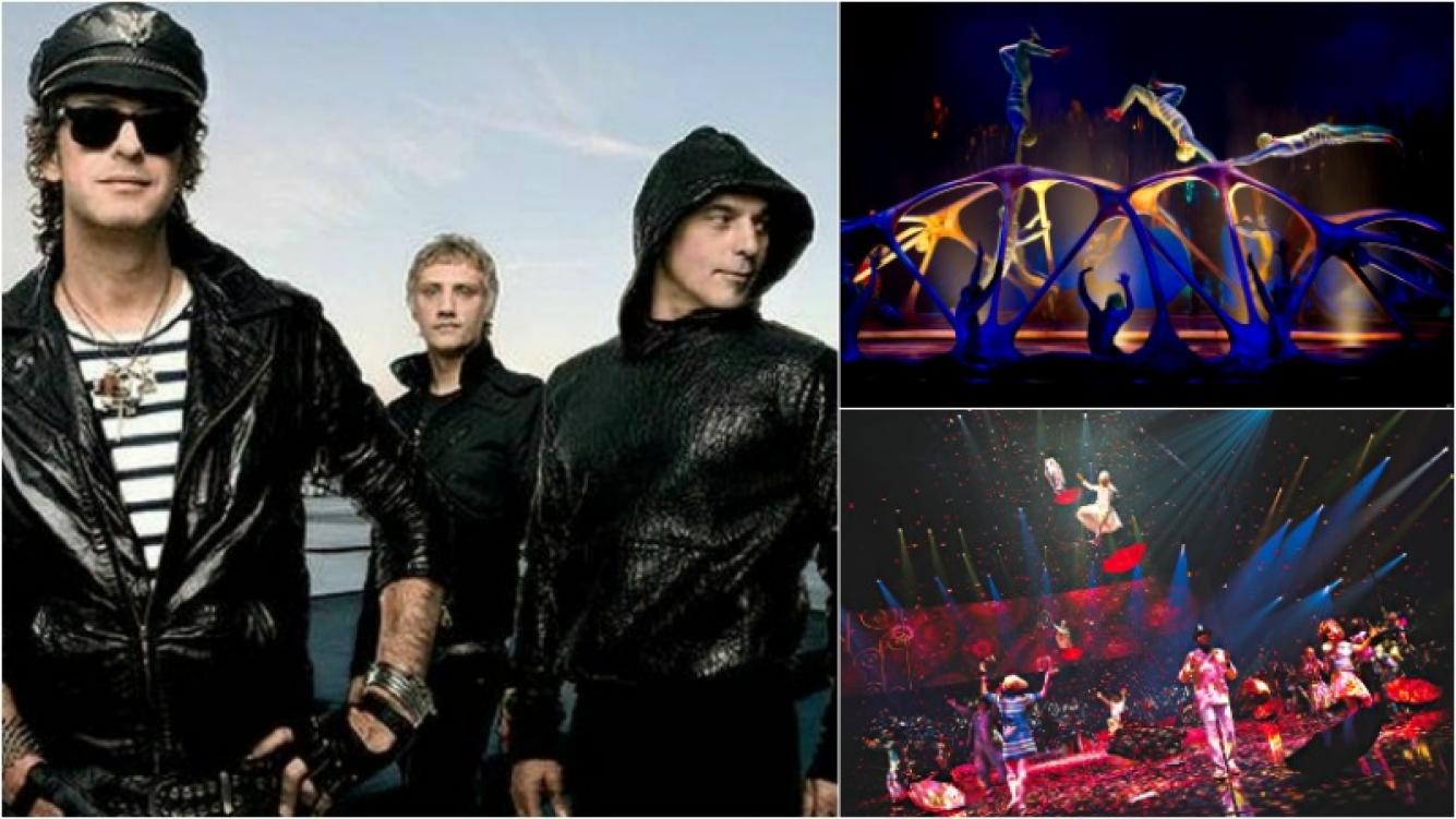 Soda Stereo será homenajeado por el Cirque du Soleil. Foto: Captura