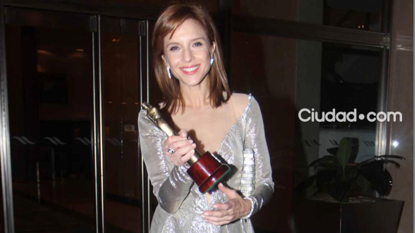 Carla Peterson, reconocida por su labor en Guapas (Foto: Movilpress)