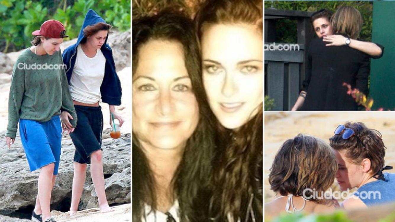 Jules, la madre de Kristen Stewart confirmó el romance de la actriz con Alicia Cargile. (Fotos: Ciudad.com / Web)