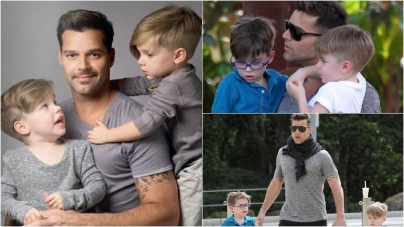Ricky Martin les dedicó una emotiva carta a sus hijos Valentino y Matteo. Foto: Captura
