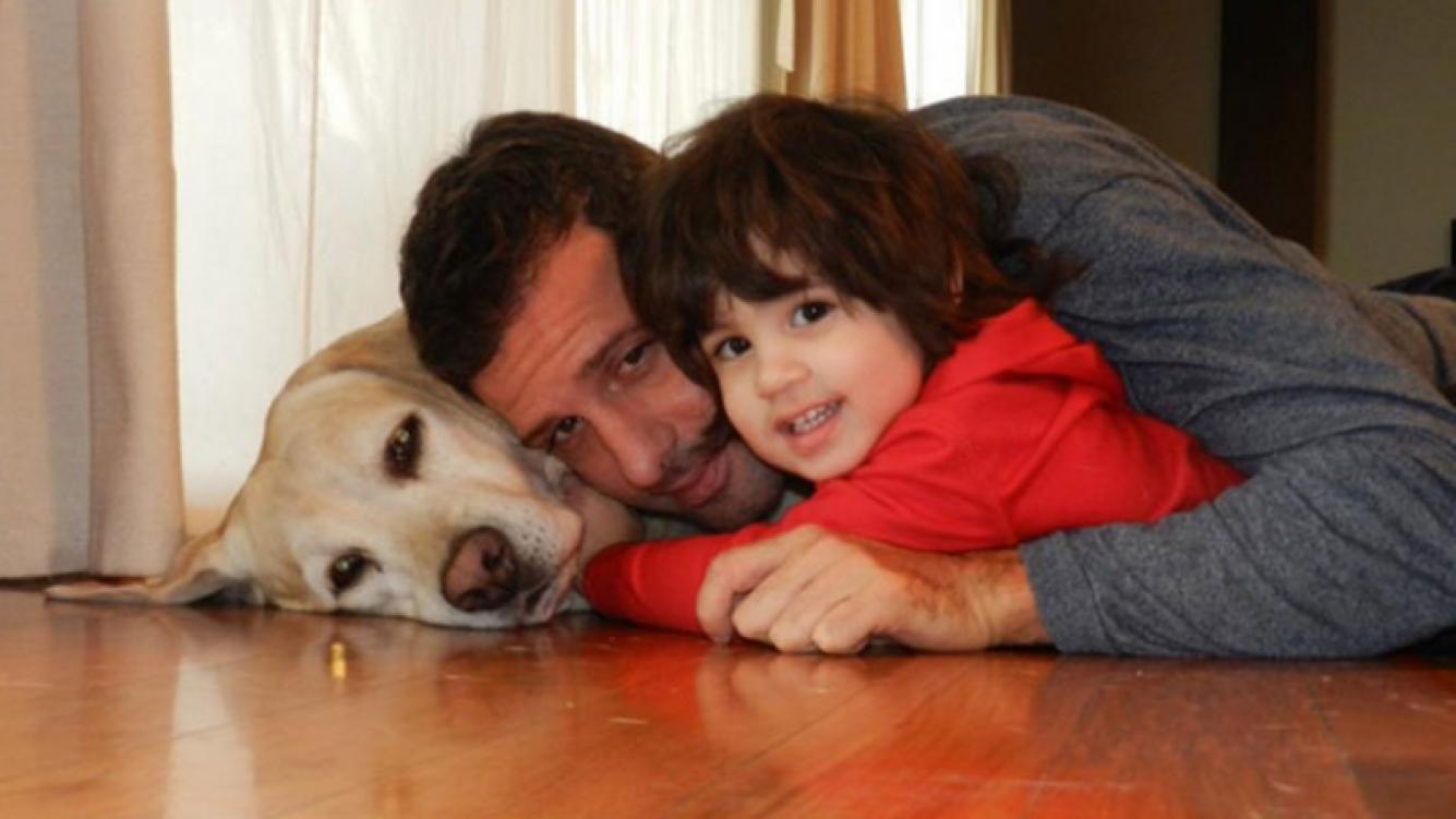 La tristeza de José María Listorti por la muerte de su perro (Foto: Twitter)