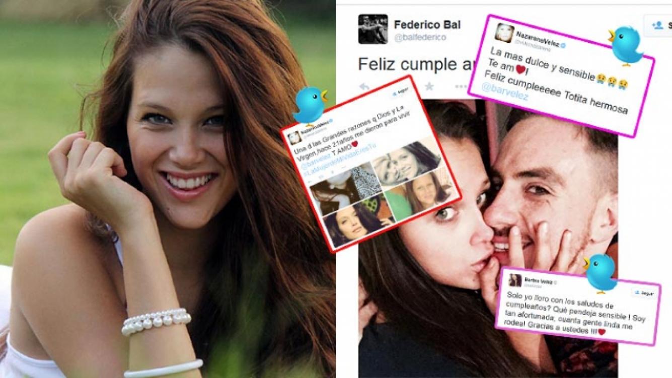 Barbie Vélez recibió saludos por su cumple 21. (Fotos: Web y Twitter)