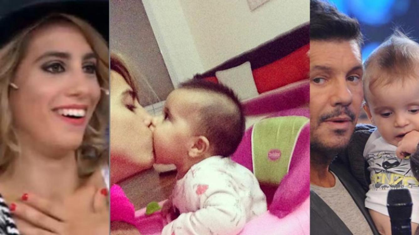 El mensaje de Cinthia Fernández para Lolo Tinelli. Fotos: Twitter y Web.