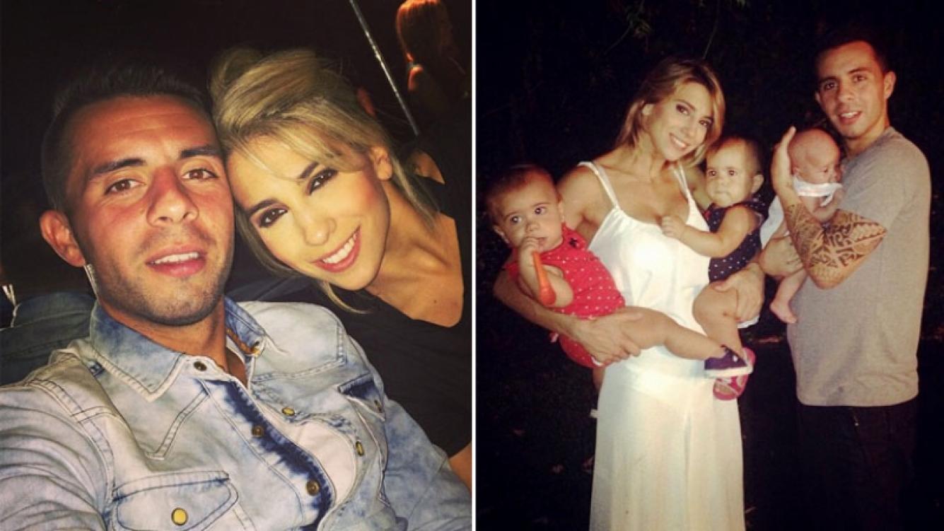 Cinthia Fernández y Matías Defederico darán el Sí junto a sus hijas. (Foto: Instagram)