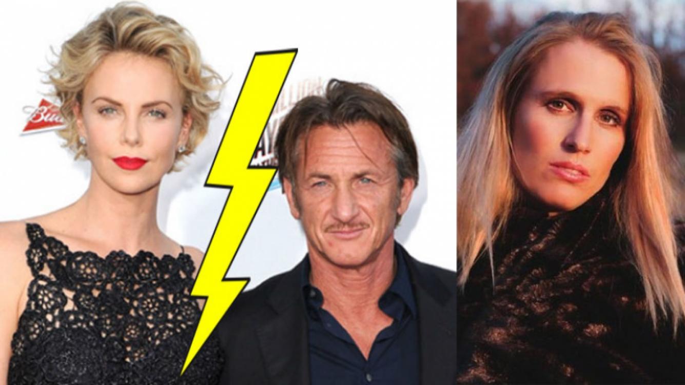 Charlize Theron y Sean Penn, ¿separados por la doble de la actriz? (Fotos: Web).