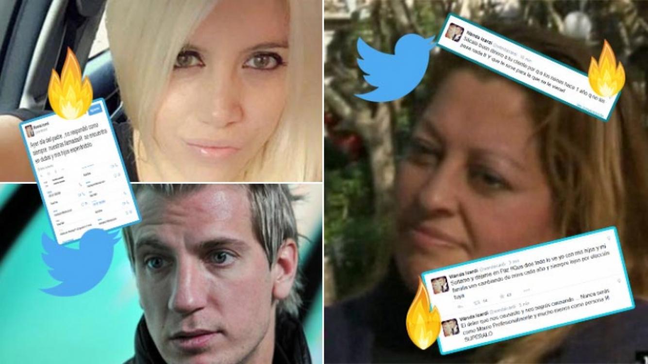 Wanda le respondió a su exempleada y a Maxi López por Twitter.