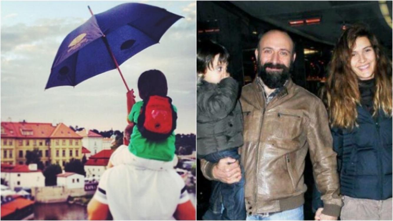 La foto que subió Sherezade en el Día del Padre. Foto: Web/ Instagram