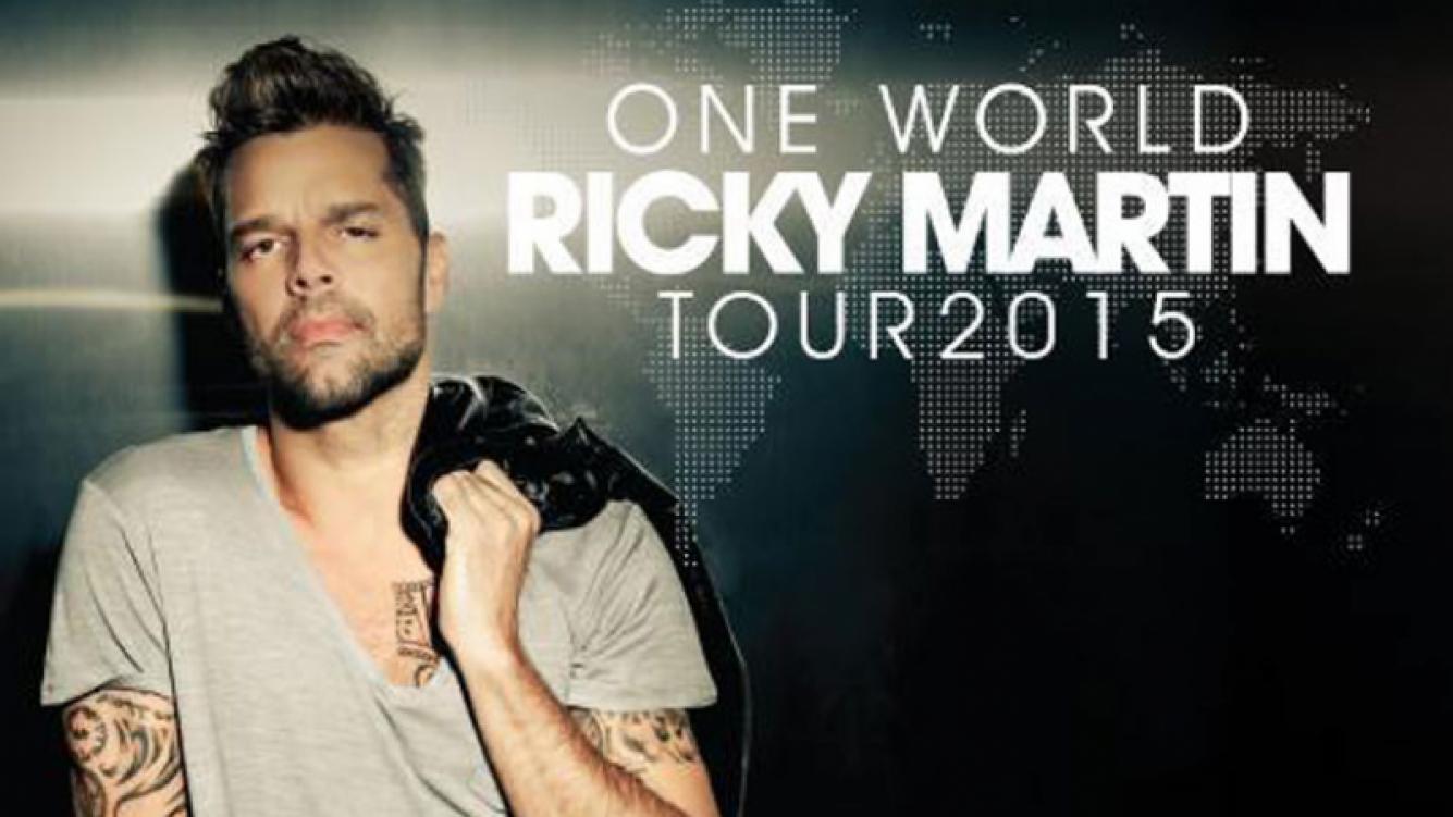 Ricky Martin estará el lunes en ShowMatch