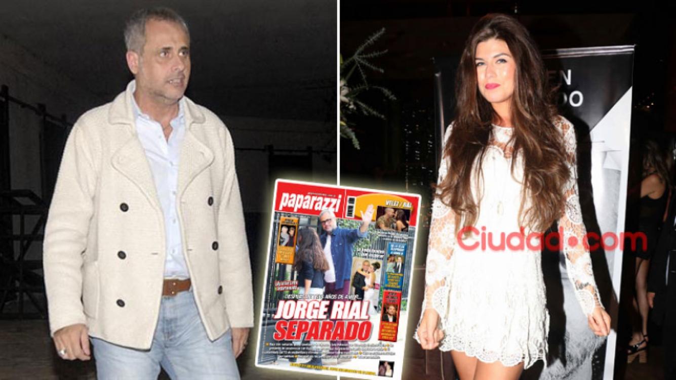 Jorge Rial y Loly Antoniale, separación confirmada. (Foto: Web y archivo Ciudad.com)