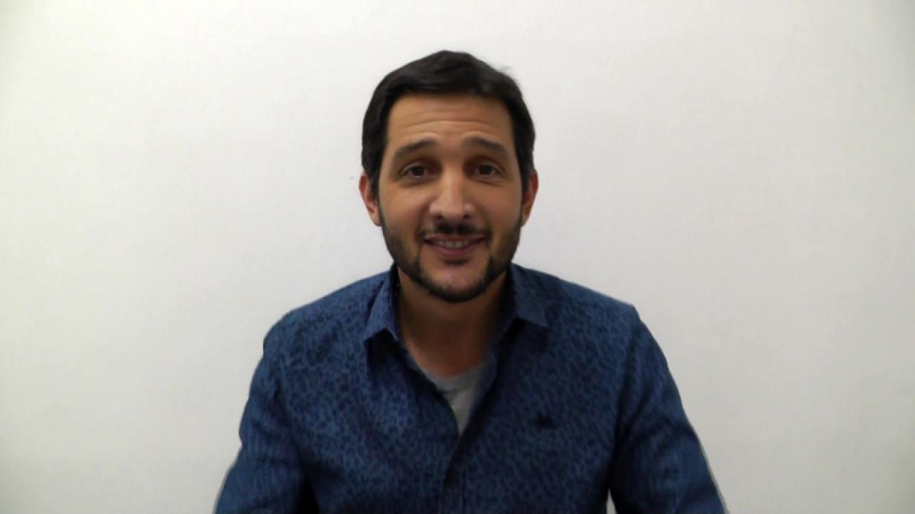 Germán Paoloski, orgulloso de Sabrina Garciarena.