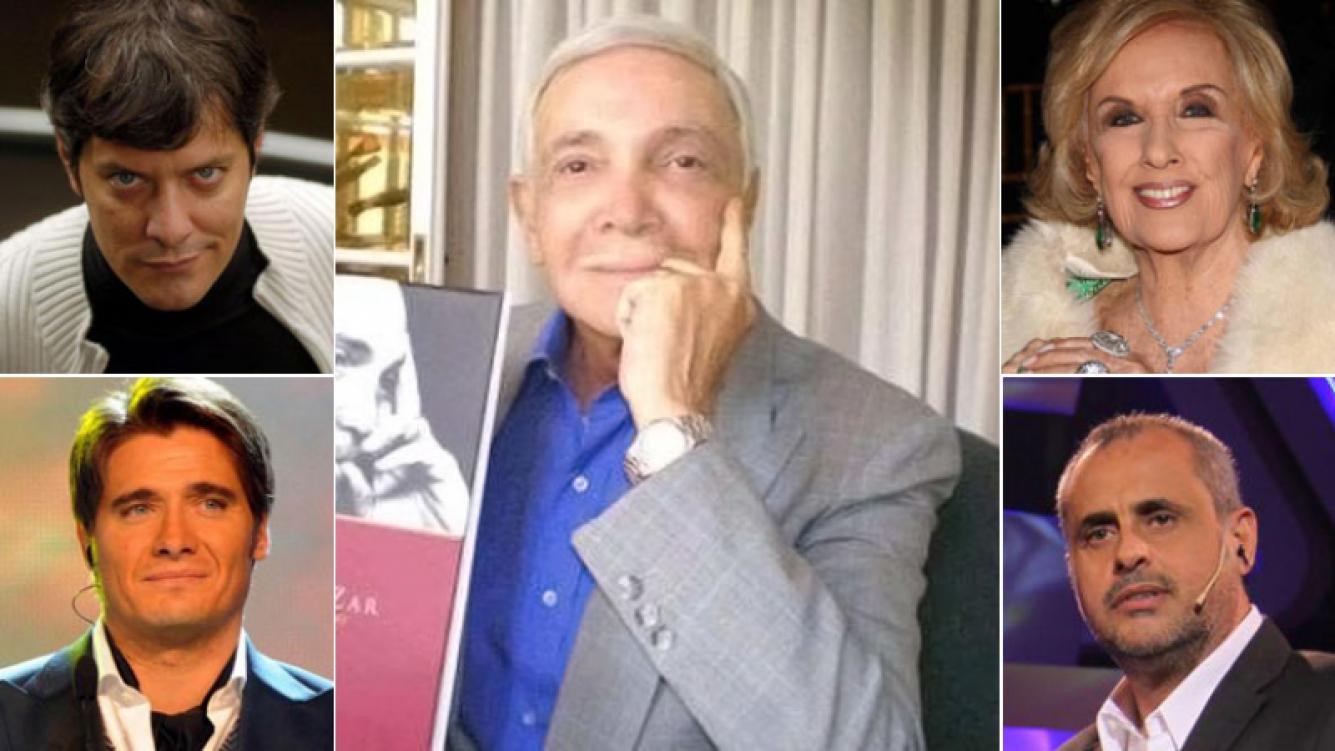 Los famosos despiden a Alejandro Romay