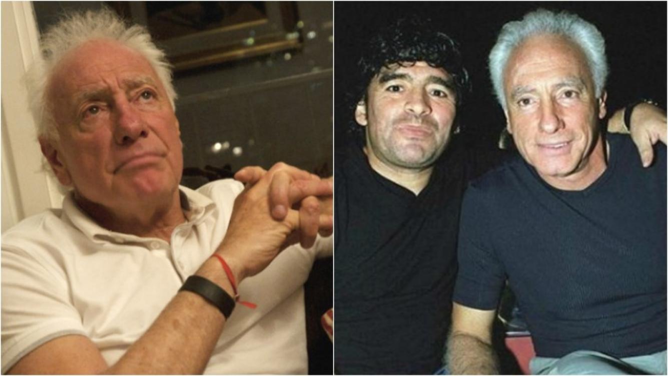 Guillermo Coppola tuvo su reencuentro con Diego, en el velatorio de Don Diego. Foto: Web